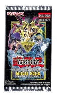 Booster Pack - The Darkside Of Dimensions Movie Pack Secret Edition Booster pack