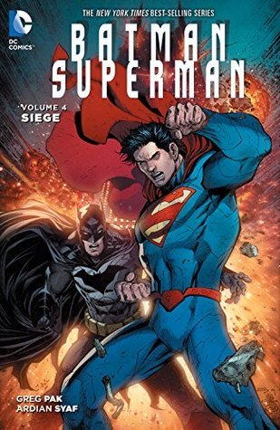 Copy of DC New 52 BatMan Superman: Siege Vol4 hardback