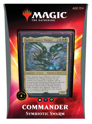 Commander 2020 - Symbiotic Swarm - 1 Box