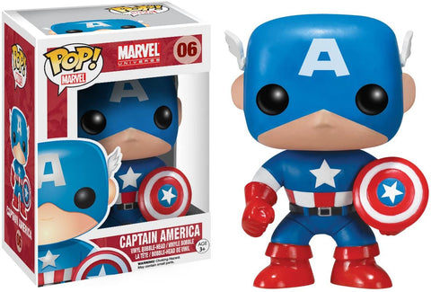 Funko Pop!  - Pop - Marvel  - Captain America 06