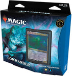 Magic: The Gathering Commander Deck – Phantom Premonition Kaldheim Premonition-100 Card Ready-to-Play, White-Blue