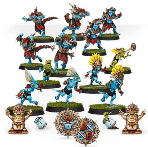 Gwaka'moli Crater Gators - Lizardmen Blood Bowl Team