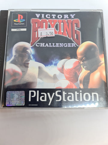 PlayStation game victory boxing
