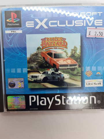 PlayStation game  dukes of hazard: Racing for home