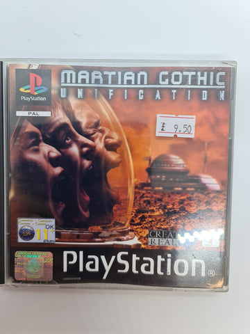 PlayStation game Martian Gothic Unification