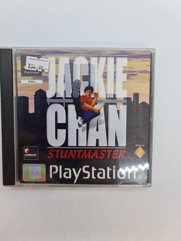 PlayStation game Jackie Chan Stuntmaster