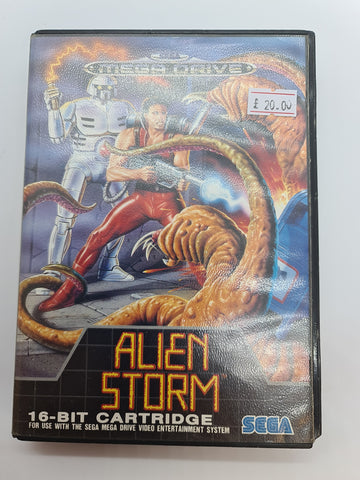 Mega Drive Game Alien Storm