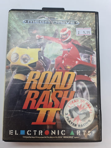 Mega Drive Game Road Rage 2