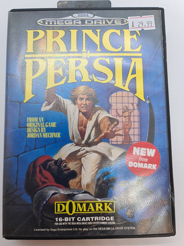 Mega Drive Game Prince of Persia