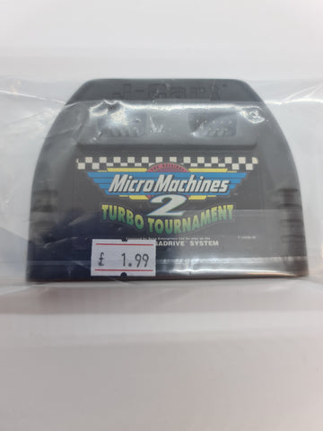 Mega Drive Game Micro Machines 2 No.Box