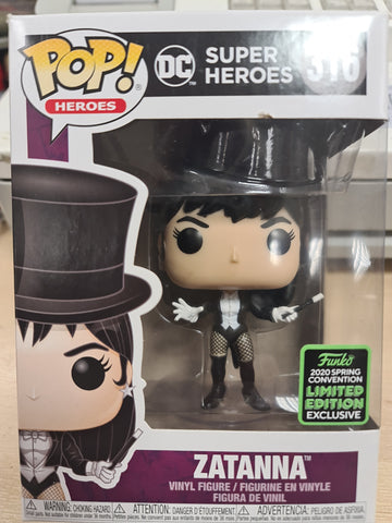 Funko pop Zatana 2020 limited edition