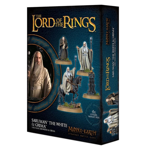 Lord of The Rings: Saruman the White & Grima Wormtongue