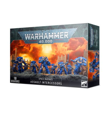 Space Marine Primaris Assault Intercessors