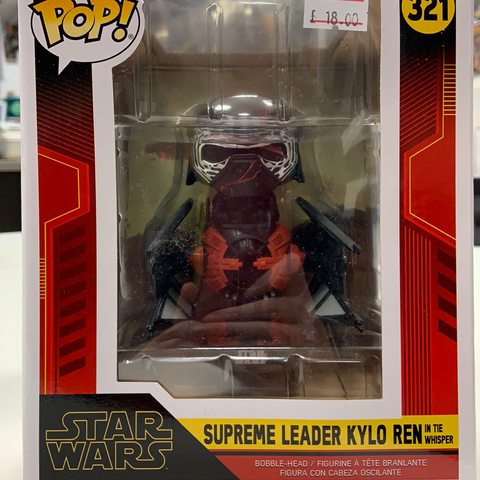 Star Wars Pop Supreme Leader Kylo Ren in the whisper
