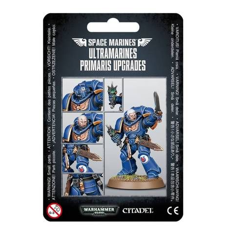 Space Marine Ultramarines Primaris Upgrades