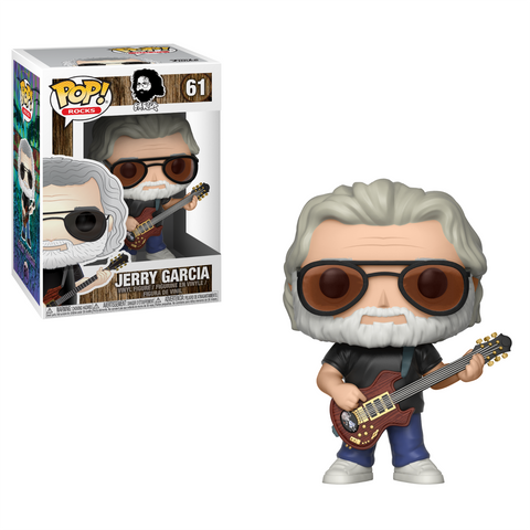 FUNKO POP VINYL ROCKS JERRY GARCIA #61 VAULTED