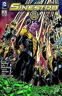 DC Comics Green Lantern Sinestro vol 3  Rising paper back
