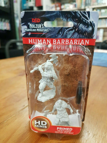 Dungeons & Dragons Human Barbarian