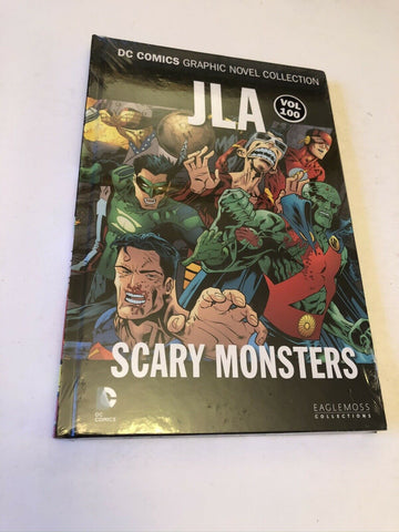 JLA: Scary Monsters Book hardback DC collection eaflemoss VOLUME 100