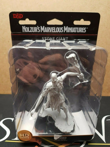 Stone Giant - D&D - Wizkids Nolzur's Marvelous Miniatures Large