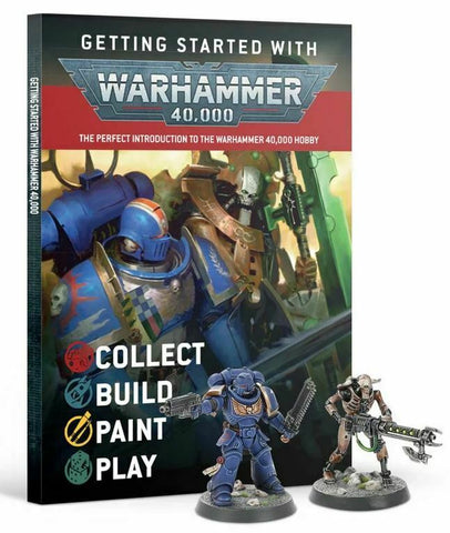Getting Started with Warhammer 40,000 including 2 models
