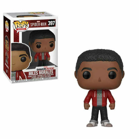 MILES MORALES #397 FUNKO POP! FIGURE- SPIDER-MAN PS4 GAME - GAMEVERSE