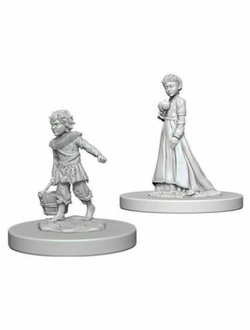 Dungeons and Dragons Battles Deep Cuts Unpainted Miniatures: Children