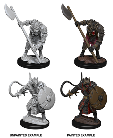 Dungeons and Dragons Battles Deep Cuts Unpainted Miniatures: Gnolls
