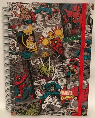 Marvel A5 Comic Panel Notebook