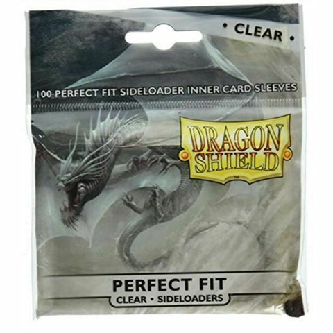 Dragon Shield Perfect Fit Clear Inner sleeves side loading