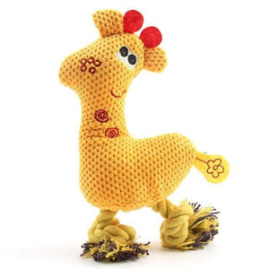 Cute Giraffe Squeaky Toy