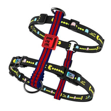 Load image into Gallery viewer, Printed Dog Pet Harness - The Bark 'n' Paws