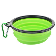 Load image into Gallery viewer, Portable Outdoor Silicone Bowl - The Bark 'n' Paws
