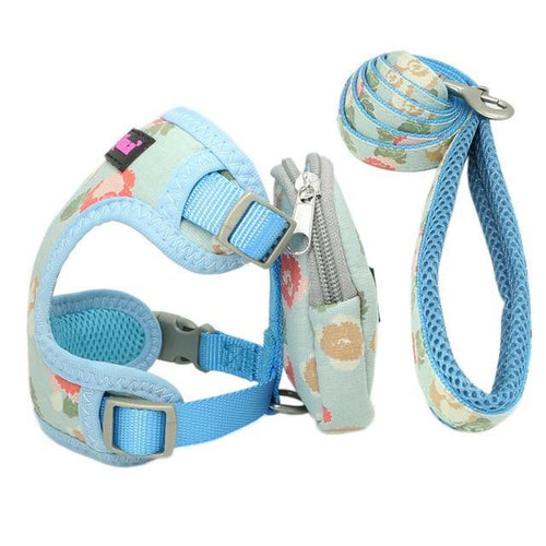 Pet Dog Harness & Leash - The Bark 'n' Paws