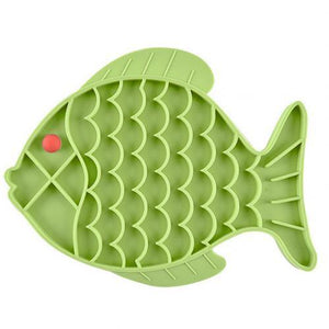 Fish Shape Slow Feeder - The Bark 'n' Paws
