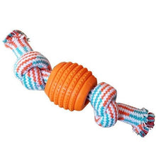 Load image into Gallery viewer, Bite Resistant Dog Rope Toy - The Bark 'n' Paws