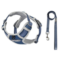 No Pull Reflective Breathable Harness - The Bark 'n' Paws