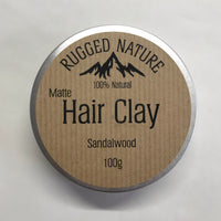 Rugged Nature Matte Hair Clay