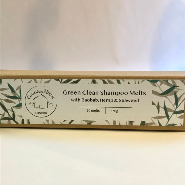 Conscious House London Green Clean Shampoo Melts