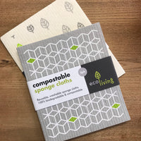 EcoLiving Compostable Sponge Cloth