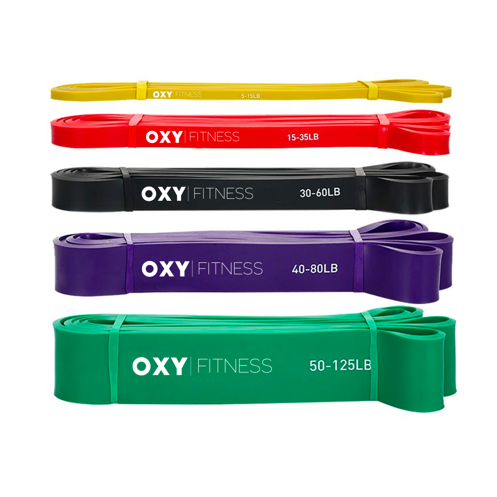 OXY Fitness Training Resistance Bands Set of 5