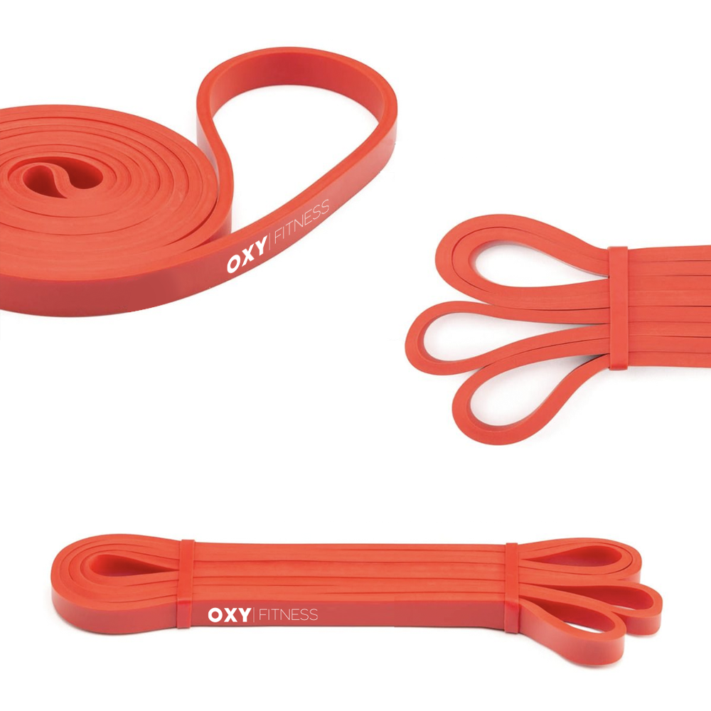 OXY Fitness Training Resistance Band Red (15-35lb)