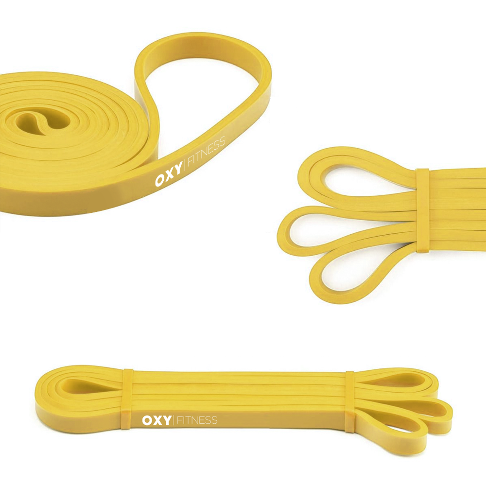 OXY Fitness Training Resistance Band Yellow (5-15lbs)