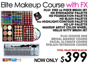 "Special Promotion ""Elite Makeup Course with FX"""