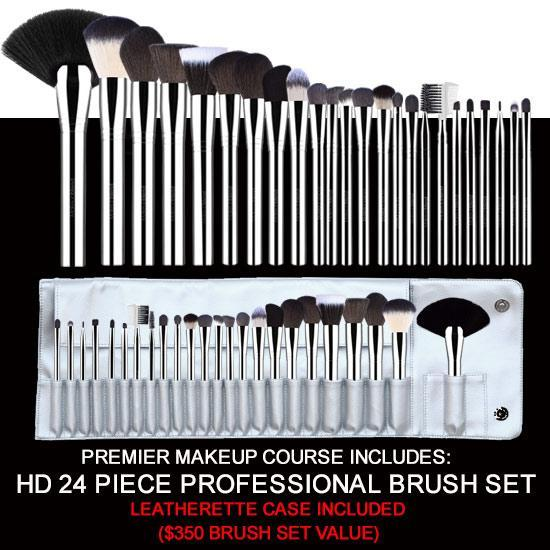 Premier Makeup  Brush Set
