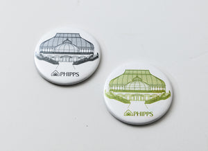 Phipps Glasshouse Magnet (Circle)