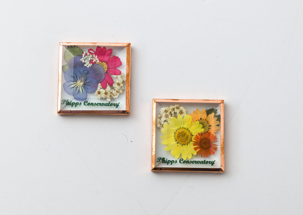 Pressed Flower Magnet