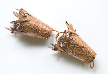 Load image into Gallery viewer, Hummingbird Copper Rain Chain