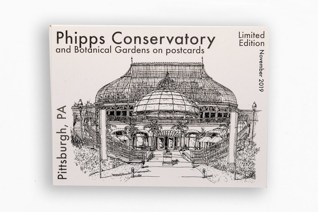 Phipps Limited Edition Postcard Set