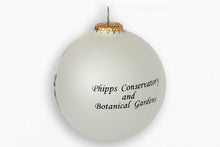 Load image into Gallery viewer, Phipps Conservatory Glass Ball Ornament